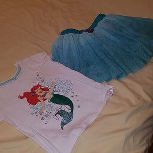 Disney's the little mermaid matching set